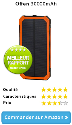 achat chargeur solaire