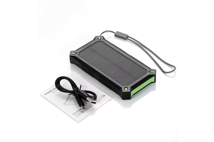 poweradd apollo 3 8000mah chargeur solaire